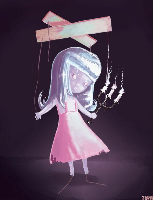 Marionette Doll